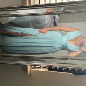 Bcbg blue dress!